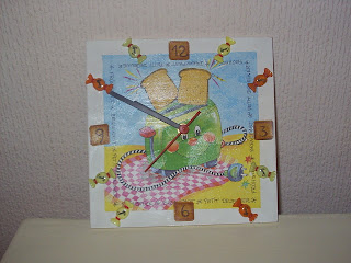 Manualidades de mam relojes para ni os - Manualidades relojes infantiles ...