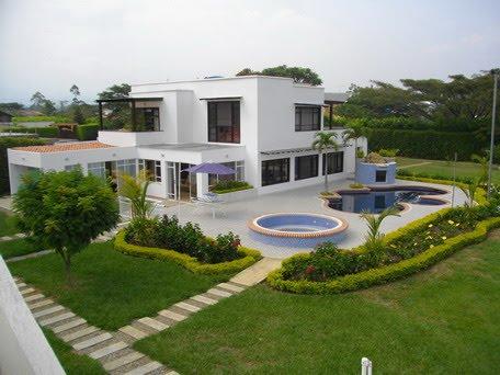 Inmuebles en cali espectacular casa en parcelaci n al sur for Archies cali ciudad jardin