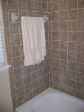 Bath remodel tile
