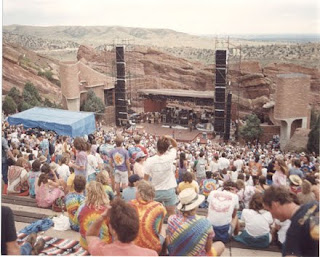 Grateful Dead Red Rocks 1987