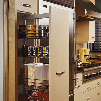 Pantry Cabinet: Microwave Pantry Cabinet With Microwave Insert ...