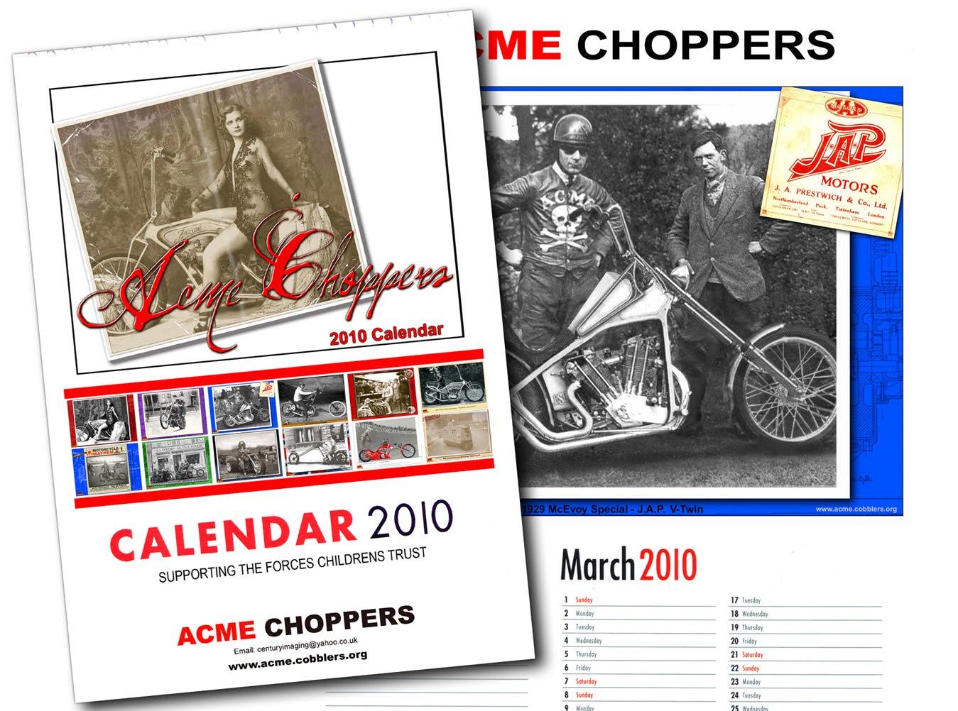 chopper calendar