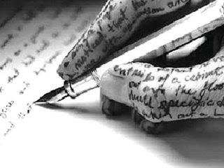Escrevo o que preciso contar.