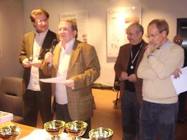 Premio di poesia 2006/7 Restelli, premiato dall'Ass. all'Immagine Mi. ORSATTI, Italia e Merzario...