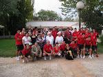 10/9/2008 mis compañeros y yo con la Selección Española de futbol