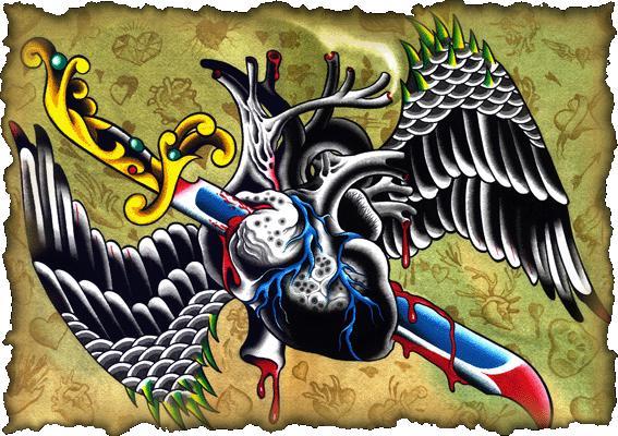 BlackHeart tattoo SF