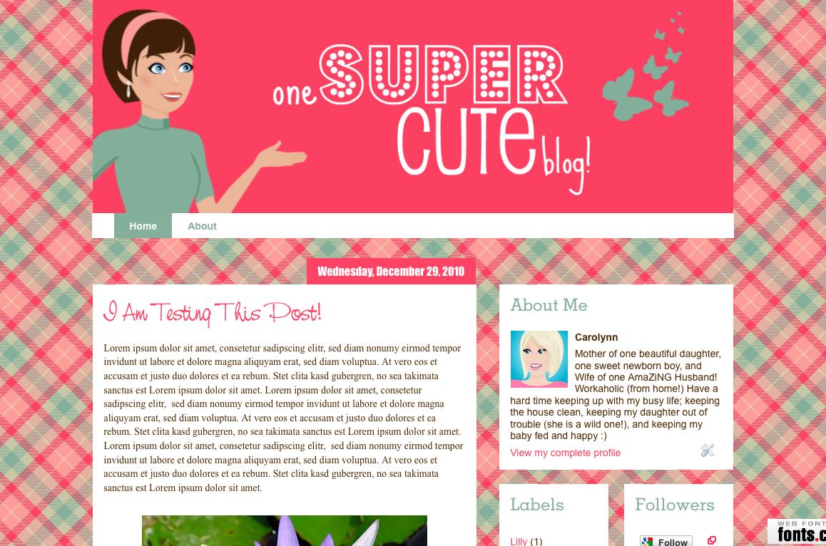Makin Cute Blogs