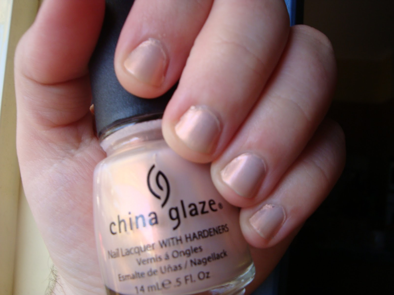 DanniiBeauty: China Glaze nailpolish review - Cheek to Cheek colour