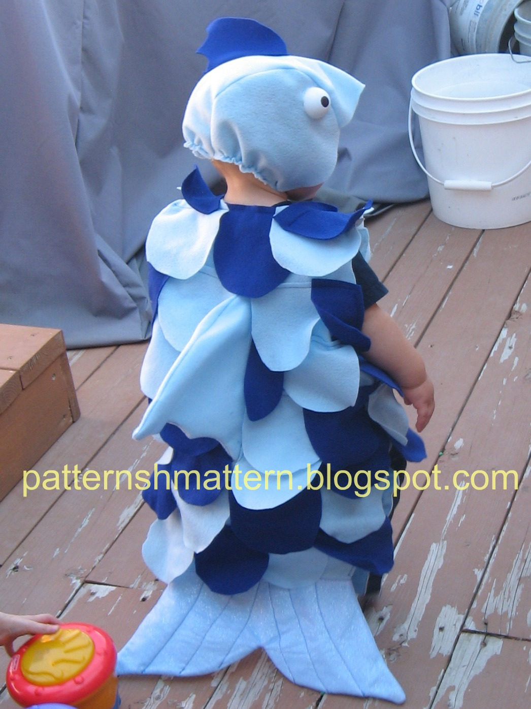 pattern shmattern halloween fish costume
