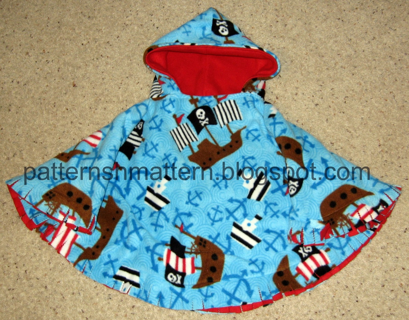 Pattern Shmattern Car Seat Poncho Another Way To Sew
