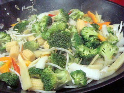 how to make stir fry rice in a wok