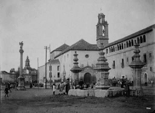 Vista del Convento del Carmen, desde el Campo de San Antón