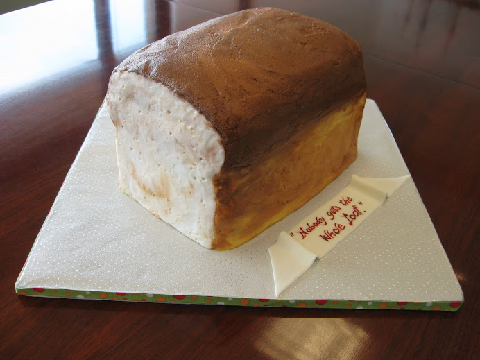 Bread Loaf Cake