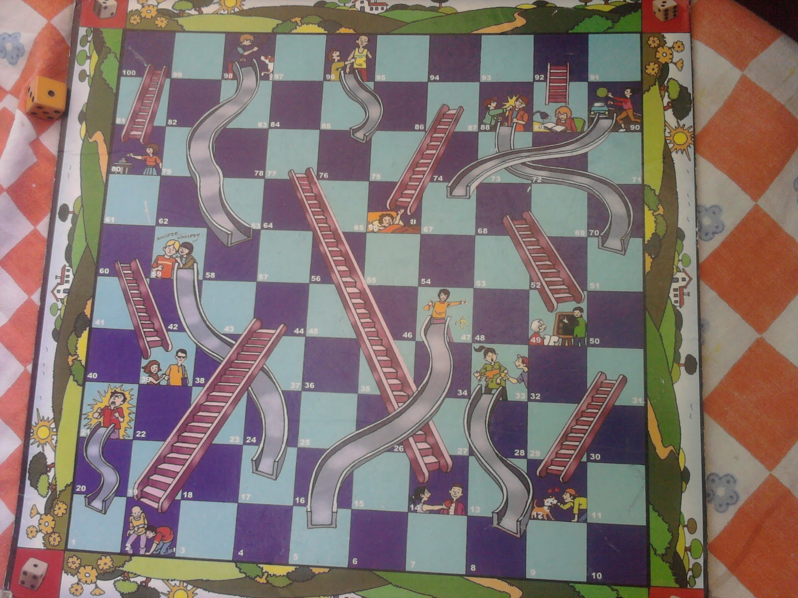 Chutes And Ladders Board Chutes and ladders