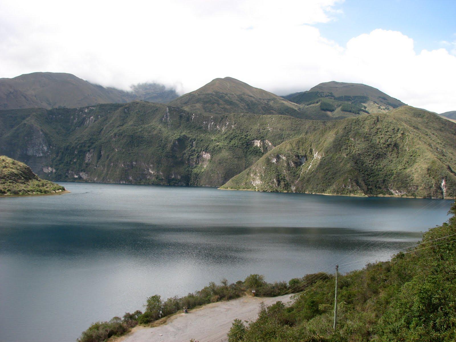 Ecuador 2010 Cuicocha The Crater Lake