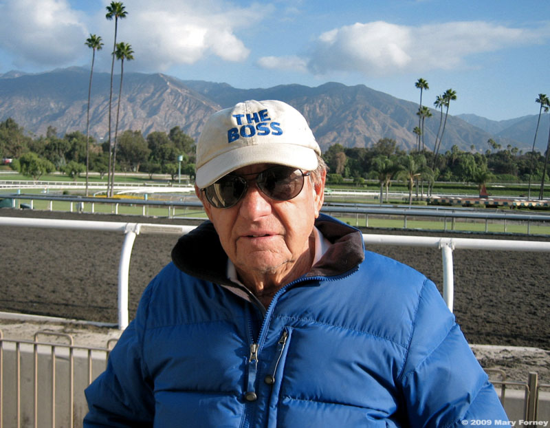Trainer Bruce Headley