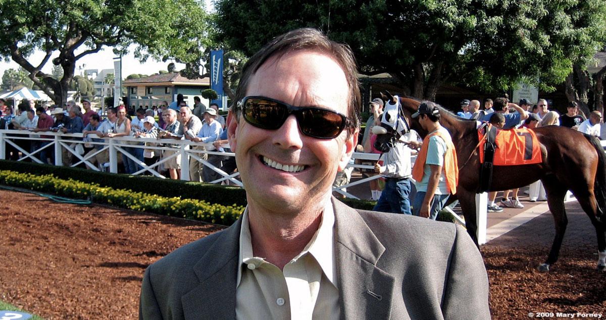 Peter Eurton at Santa Anita