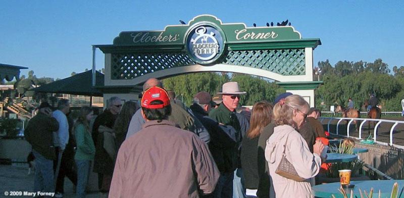 Clockers Corner Santa Anita Park