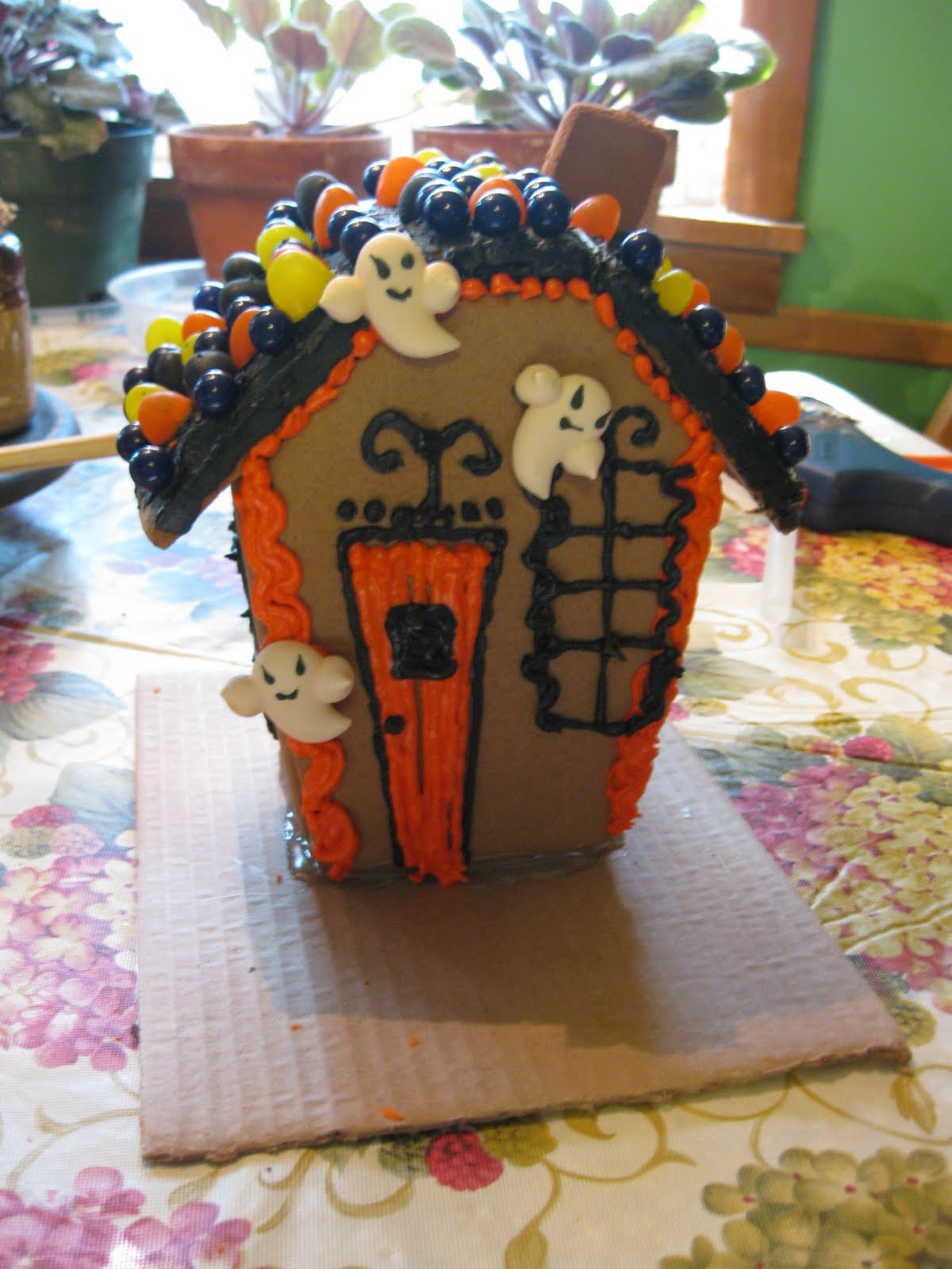 Redneck Gingerbread Houses Haunted gingerbread house.