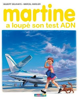 Martine loupe son test ADN