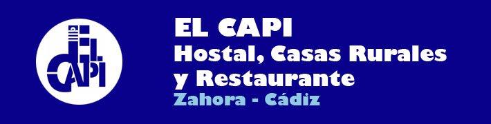 EL CAPI Casas Rurales, Hostal y Restaurante en Caños de Meca, Zahora, Cadiz. España.