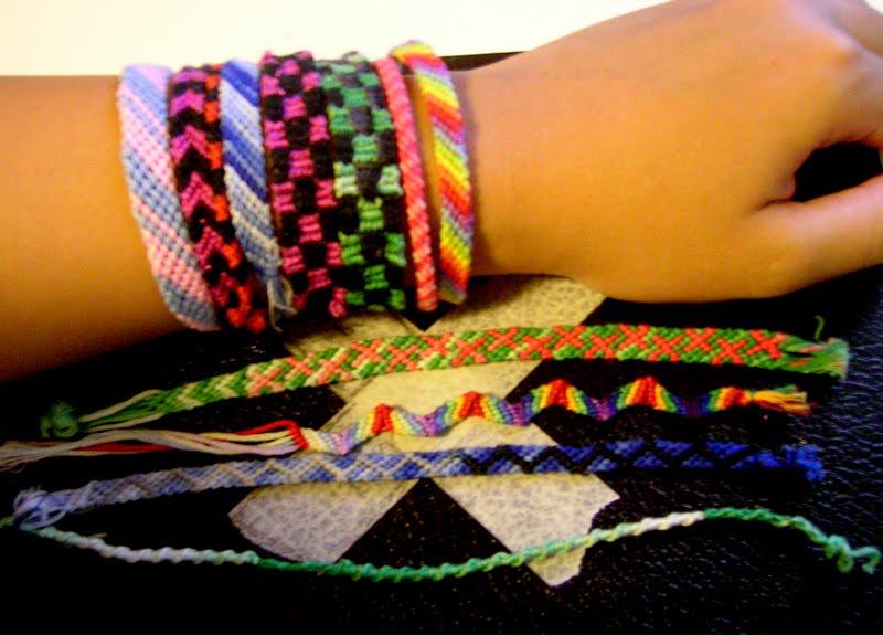 Cool Plastic String Bracelets