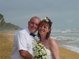 Steve and I on our wedding day...