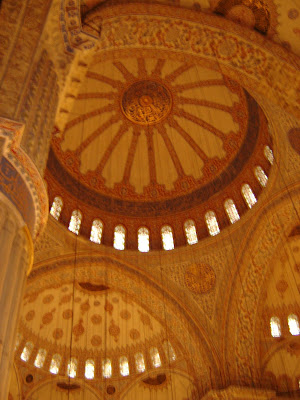 Inside of Sultanahmet Mosque
