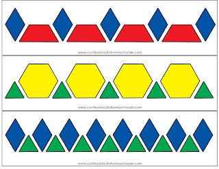 Selective image with printable pattern block