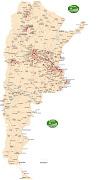 MAPA DE GNC DE LA REPUBLICA ARGENTINA. PARA LOS QUE TENGAN SU TRAFIC NAFTERA . mapa rutas gnc