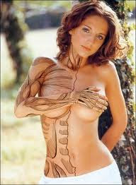 Women Body Painting Photo