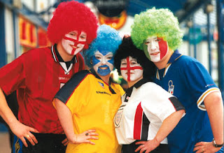 World Cup 2010 Face-painting Ideas