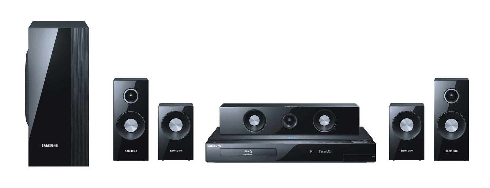 Samsung 3D Bluray Surround Sound System