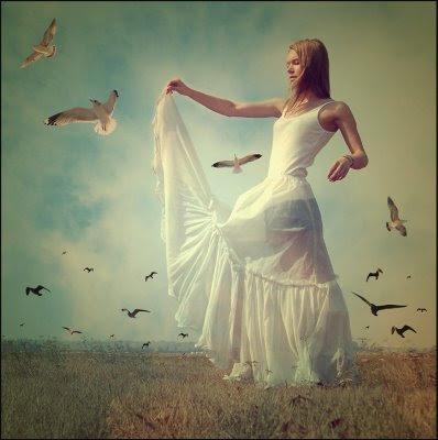 liberdade,pássaros livres,mulher feliz