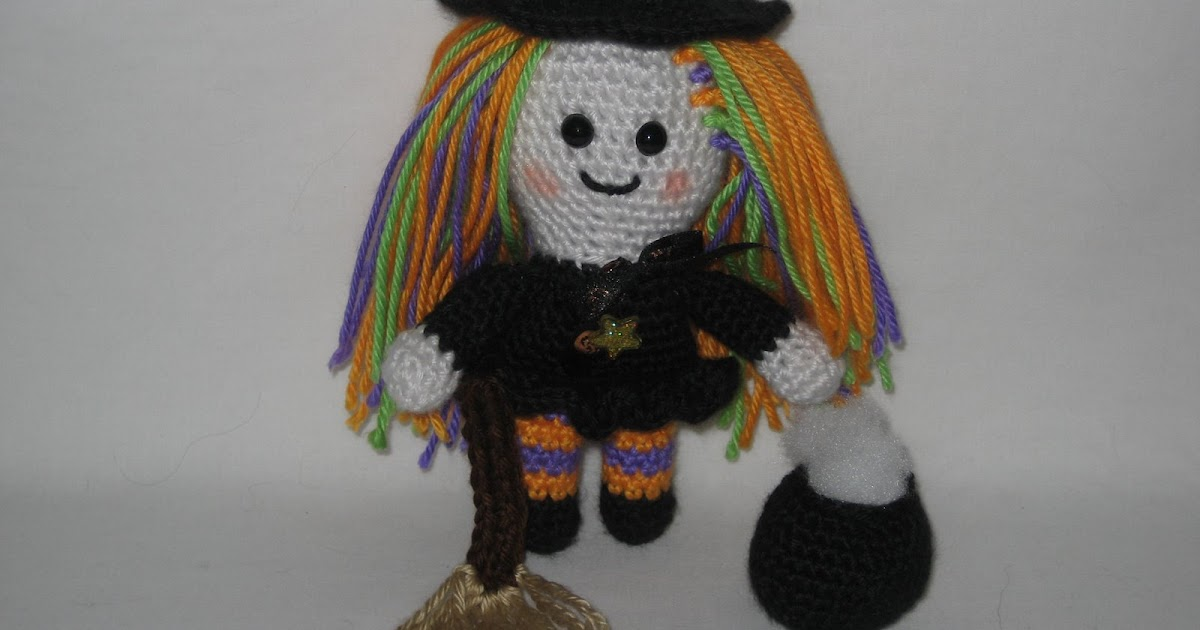 Halloween Amigurumi Crochet : 2000 Free Amigurumi Patterns: Witch