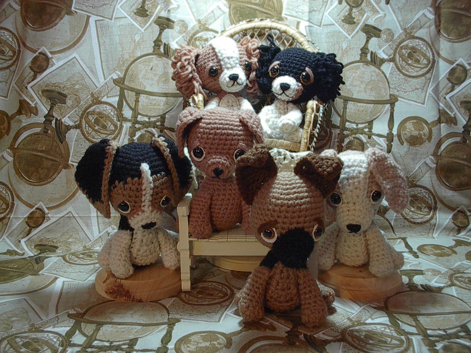 Crochet Patterns Free For Dogs : 2000 Free Amigurumi Patterns: Puppy patterns: Shepherd ...