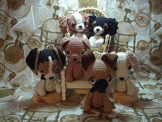 AmiDogs German Shepherd (Alsatian) amigurumi crochet pattern