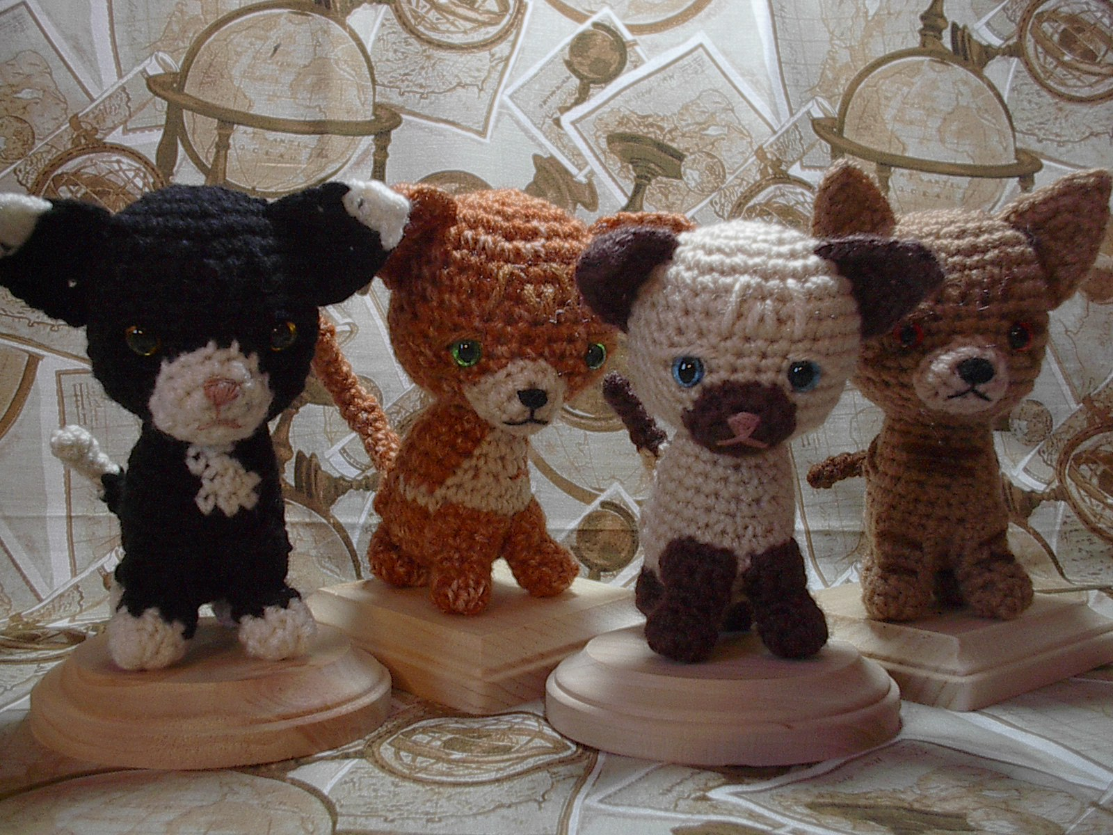 Free Crochet Patterns Cat : 2000 Free Amigurumi Patterns: Cute Kittens