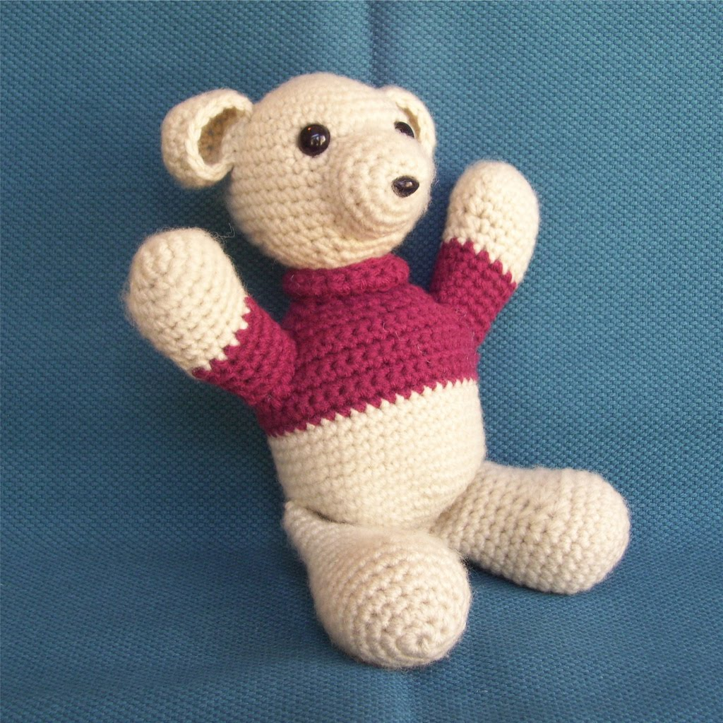 Free Amigurumi Patterns Horse : 2000 Free Amigurumi Patterns: Bear in a Jif