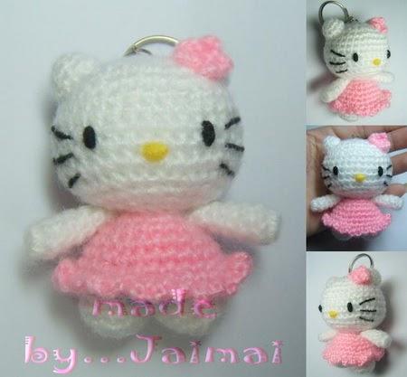 Mini Hello Kitty Amigurumi : 2000 Free Amigurumi Patterns: Tiny Cat