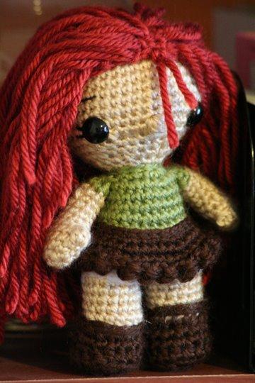 Simple Amigurumi Doll : 2000 Free Amigurumi Patterns: Zoe Lily-Belle