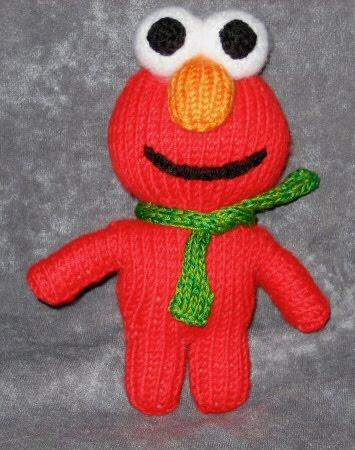 Free Crochet Pattern For Elmo Beanie : 2000 Free Amigurumi Patterns: Elmo Peep Pattern