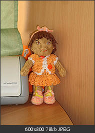 Amigurumi Basic Doll Free Pattern : 2000 Free Amigurumi Patterns: Doll Crochet pattern