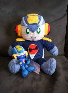 Free Amigurumi Robot Pattern : 2000 Free Amigurumi Patterns: Mega Man