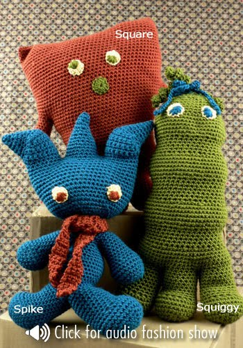 Amigurumi Monster Patterns : 2000 Free Amigurumi Patterns: Panama Dolls