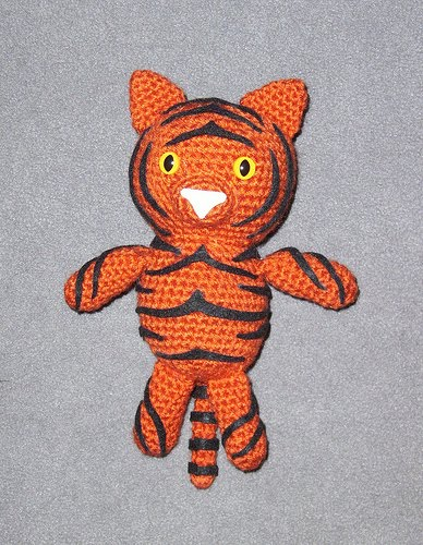 Amigurumi Patterns Tiger : 2000 Free Amigurumi Patterns: Tiger