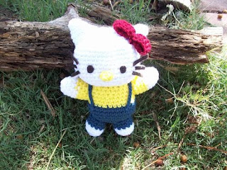 Hello Kitty Crochet Pattern by Crafts by AP | FaveCrafts.com