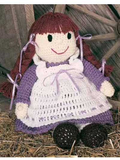 2000 Free Amigurumi Patterns: Pioneer Becky Doll