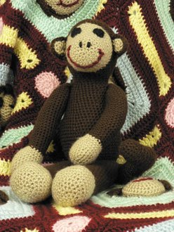 2000 Free Amigurumi Patterns: Monkey Toy