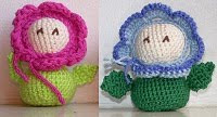 Amigurumi Flower Pattern Free : AMIGURUMI FLOWER CROCHET PATTERN Crochet Patterns Only